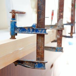 Wood - Glue - Clamp